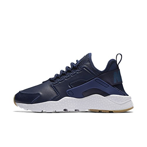 Nike, Donna, Wmns Air Huarache Run Ultra SI Binary Blue, Pelle, Sneakers, Blu