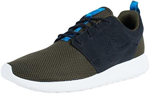 Nike Men s Rosherun Dark Loden Blk Drk LDN Mid nTrq Running Shoe