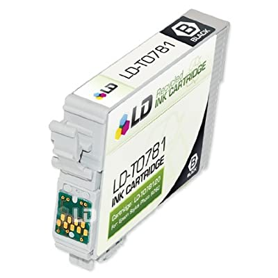 LD Remanufactured Replacement for Epson T078 7-Set Ink Cartridges: 2 Black & 1 each of Cyan/Magenta / Yellow/Light Cyan/Light Magenta