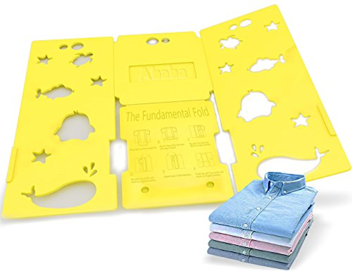 AHAHA Clothes Folder Board Easy and Fast for Kids - Thicknes T-Shirts Laundry Folding Plastic Board