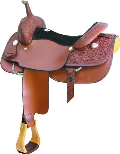 Amazon com : Billy Cook Saddlery Ashcraft Cutter Saddle 16In Pe