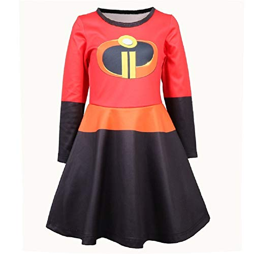 SevenJuly123 Supergirl Dress Superwoman Dress Lady Cosplay Costume Women's Sexy Unifrom XL Red]()