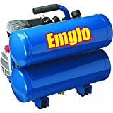 Emglo E810-4V 4-Gallon Heavy-Duty Oil-Lube Stacked Tank Air Compressor