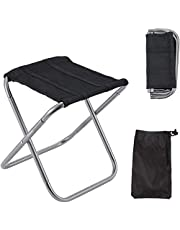 Folding Camping Stool, Mini Portable Camping Stool, Lightweight Folding Camping Stool, Camping Chair Lightweight Folding Stool, Foldable Seat Ultralight Portable Chair, for Travel, Hiking etc.