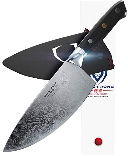 - Dalstrong Rocking Herb Knife - Shogun Series - AUS-10V Super Steel (Vacuum Heat Treated)- 7