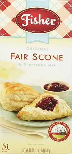 Fisher Fair Scone Mix, 18 oz -