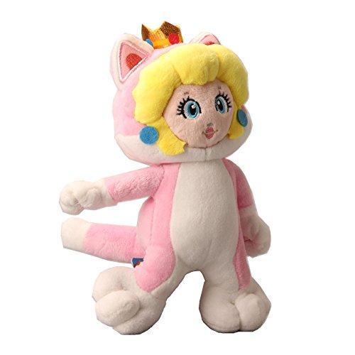 uiuoutoy Super Mario Bros. 3D World Neko Cat Peach Plush 9