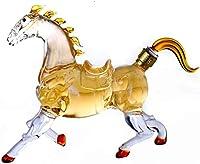 Decantador De Whisky Decantador De Licor Cristal Decantador De Caballos
