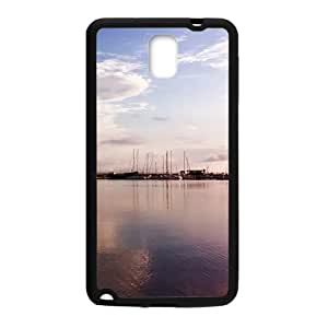 Clouds Sky Black Phone Case for Samsung Galaxy Note3