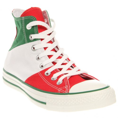 4c116807991943 CONVERSE MENS ALL STAR HI TRI PANEL MEXICO GREEN WHITE RED SIZE 8 - Buy  Online in UAE.