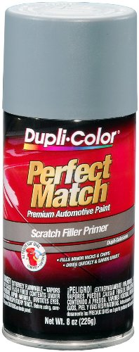Police 2007 Ford Crown - Dupli-Color EBPR00310 Gray Perfect Match Scratch Filler Primer - 8 oz. Aerosol