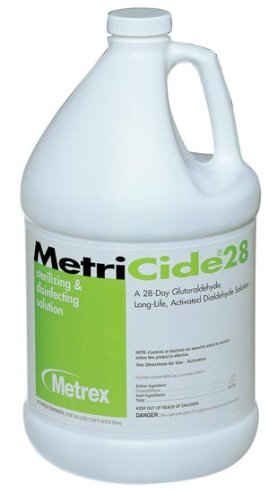 Metrex 10-2800 MetriCide 28 High-Level Disinfectant/Sterilant, 1 gal Capacity ()