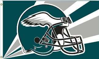 NFL Philadelphia Eagles 3' X 5' Banner - Philadelphia Eagles Flag 3x5