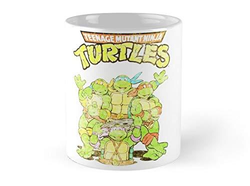Retro Ninja Turtles 11oz Mug