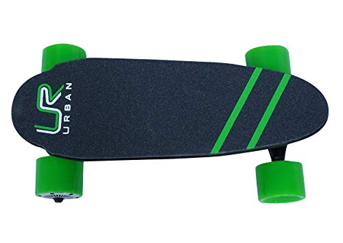 Urban - Portable Mini Electric Skateboard Skateboard with Wireless Remote 17 Inch 12 MPH 7 Mile Range (Green) by Urban (Image #2)