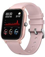 ساعة ذكية SENBONO P8 مضادة للماء شاشة لمس سيليكون حزام لمعدل نبضات القلب ساعة ذكية متعددة وضع رياضي ، ذهبي ZQSENBONOJ4399PKT-AE