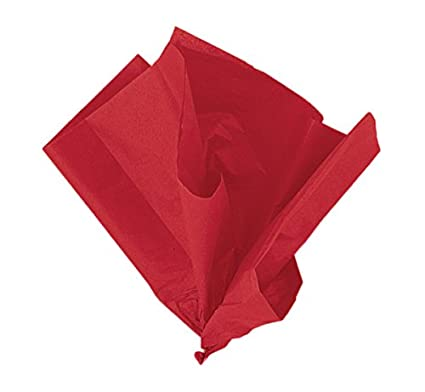 26 X 20 Red Tissue Paper Sheets 10ct