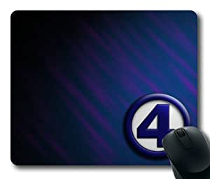 Fantastic Four Symbol Mouse Pad, Customized Rectangle Mousepad Diy By Bestsellcase by ruishername