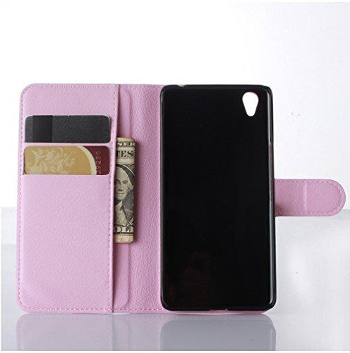 Funda Libro para OnePlus X,Manyip Suave PU Leather Cuero Con Flip Cover, Cierre Magnético, Función de Soporte,Billetera Case con Tapa para Tarjetas F