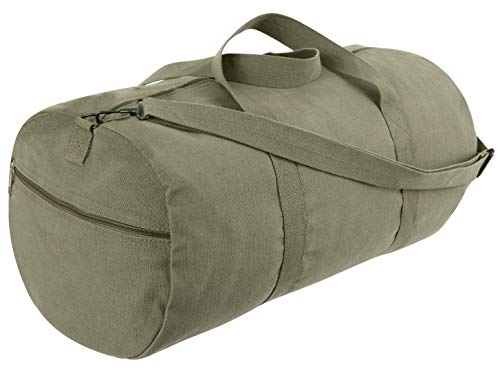 Rothco Canvas Shoulder Duffle Bag - 24 Inch, Olive for sale  Delivered anywhere in USA