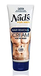 Nad\'s for Men Hair Removal Cream, 6.8 Ounce