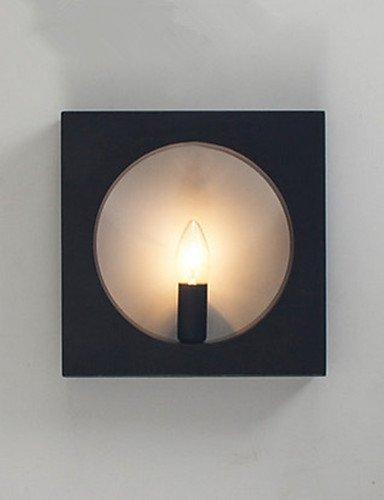 Lampade da parete di arte moderna di ferro semplice 220v