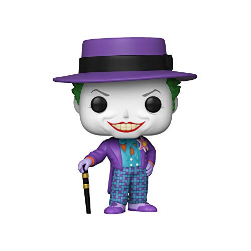 Pop! HeroesBatman 1989 -Joker w/Hat w/Chase (El diseno Puede Variar)