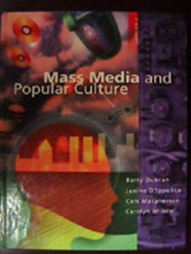 Mass Media and Popular Culture: Version 2