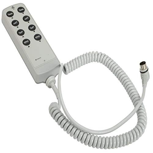 - 1 Pc, Noa Elite Riser V Riser Bed Control 8-Function Button Handset, 39
