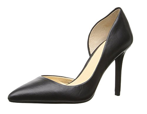 On Slip High Heels 10cm Pointed Women's Stiletto Heel Ubeauty Shoes Basic For Black Work Court Toe D'orsay 180xUUq
