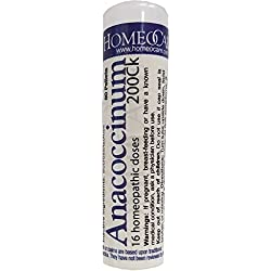 Homeocare Labs Anacoccinum 200CK Cold and Flu Homeopathic Remedies, 80 Count