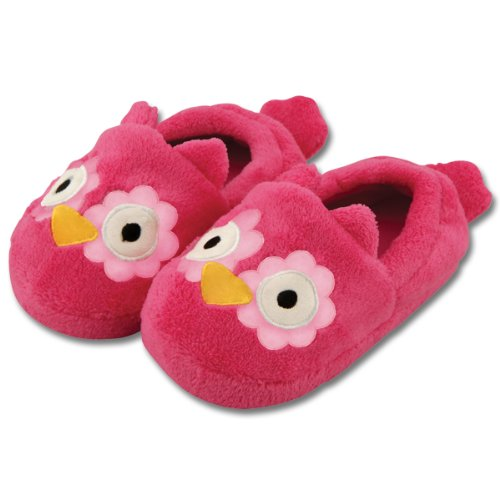 Stephen Joseph Toddler's Silly Slippers (Large, Owl)