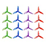 DALPROP CYCLONE Series T5050C Tri-Blade High End Propellers 5X5 CW CCW Propeller For RC Drone Racing Quadcopter DIY (8 Pairs=16pcs Mix Color)