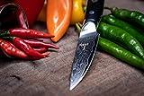 Kinzoku Damascus Steel Knife Paring Knife Japanese