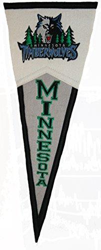 Minnesota Timberwolves NBA Classic Wool Mini Pennant by Winning Streak