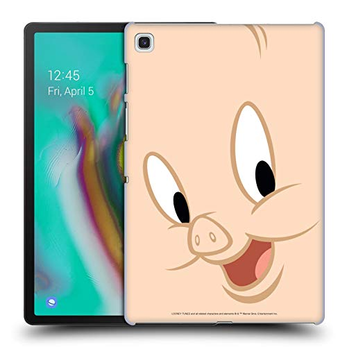 Official Looney Tunes Porky Pig Full Face Hard Back Case Compatible for Samsung Galaxy Tab S5e