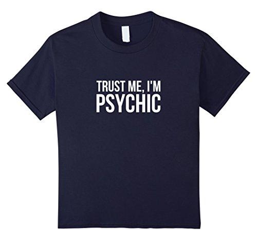 Kids Funny Psychic T Shirt - Fortune Teller Humor 12 -