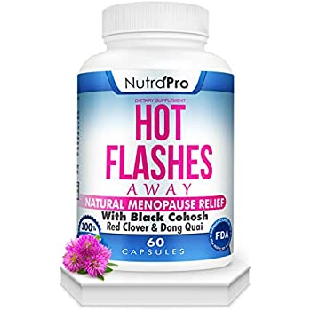 Amazon.com: Hot Flashes Menopause Relief -All Natural ...