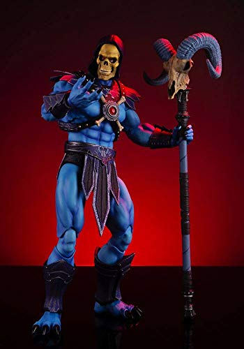 Mondo Tees Masters of The Universe: Skeletor 1: 6 Scale Collectible Action Figure, Multicolor ()