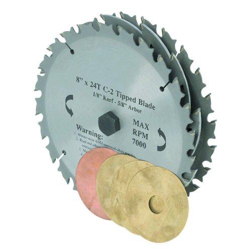 8 in. 22T Dado Circular Saw Blade Set -USATM