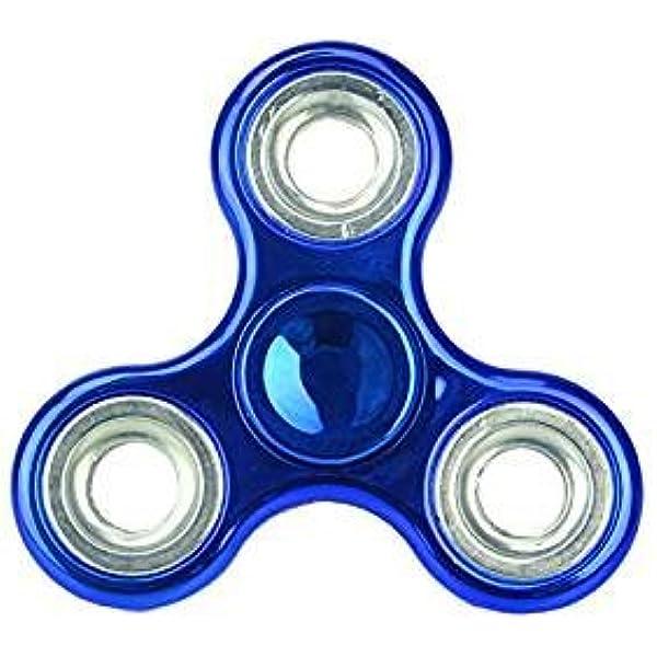 Christmas Concepts® - Exclusivo Fidget Hand Spinner - Reductor de Estrés, Alivio de Estrés, Autismo - Metallic Blue: Amazon.es: Juguetes y juegos