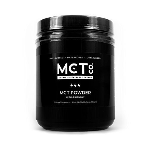 MCTCo MCT Oil Powder derived 100% from Coconuts, 16 OZ