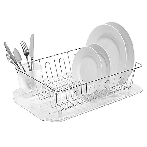 Large Dish Drainer in Chrome by: SALT (1) ()