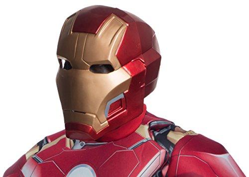 Rubie's Men's Avengers 2 Age Of Ultron Mark 43 Iron Man Mask,OneSize ()