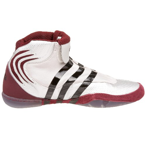 adidas Men's AdiSTRIKE John Smith Wrestling Shoe,Metallic Silver ...