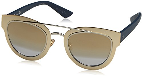 CHRISTIAN DIOR CHROMIC LML GOLD PALLADIUM BLUE SUNGLASSES (Christian Dior Gold)