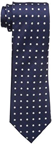 Sean John Men's Dandy Dot Tie, Navy, One Size