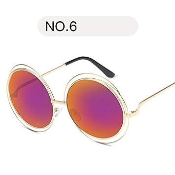 YKDDGG Accesorios de Moda Gafas de Sol de Gran tamaño Gafas ...