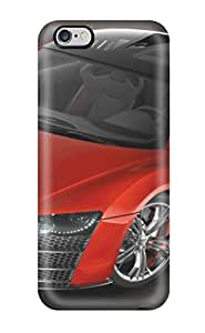 1323007K40433708 Snap-on Case Designed For Iphone 6 Plus- Audi