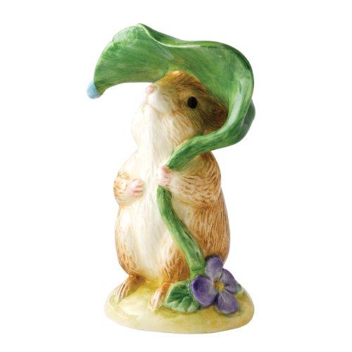 Beatrix Potter Classic Figurine - Timmy Willie Under Leaf  b
